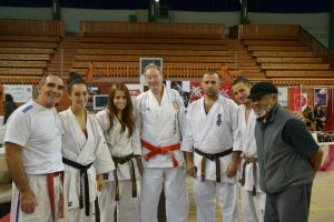Spanish Team junto a Dominique Valera, Jon Bluming y Jesse Glover, 2011
